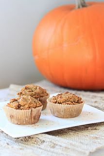 Pumpkin and Pecan Muffins by the Food Lovers Primal Palate