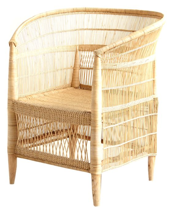 Summer Seating: Woven Rattan Chair