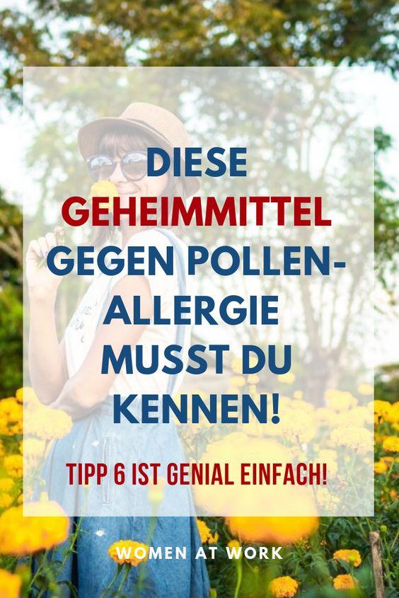 7 einfache, aber wirksame Tipps gegen Allergien