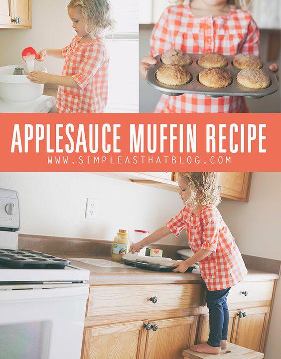 Applesauce Muffins : A Favorite Family Recipe