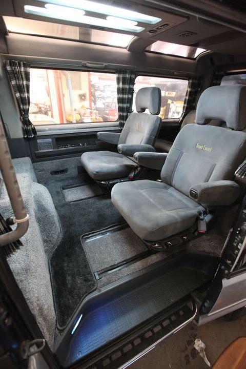1993 Mitsubishi Delica 9 500 Bristol Retro Rides In 2020 Mitsubishi Delica Van Van Interior