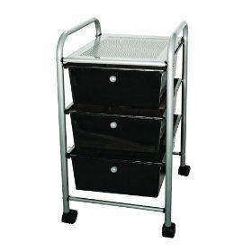 Advantus Corporation Cropper Hopper Home Center Rolling Cart, 10 Drawer Smoke $57.09