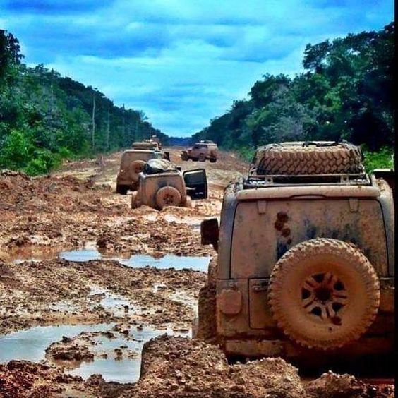 Now this is some serious offroading...