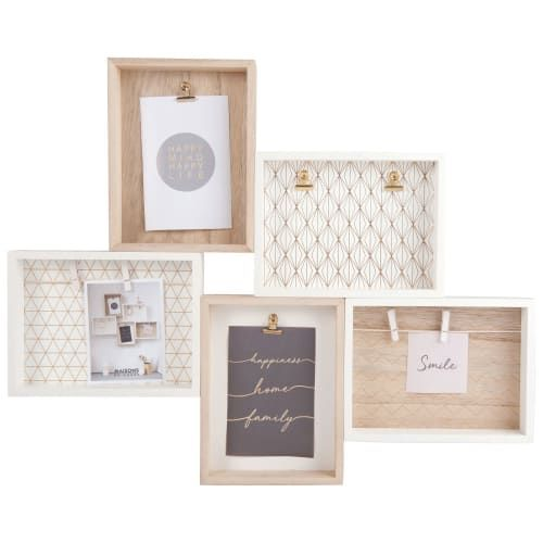 Pele Mele 5 Cadres 59x48 Maisons Du Monde In 2020 Trending Decor Frame Decorating With Pictures
