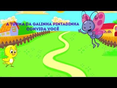 Convite Animado Virtual Galinha Pintadinha Gratis Para Baixar E