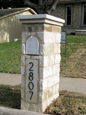 brick or stone mailbox ideas | 10 Ways to Improve Your Home's Curb Appeal - Popular Mechanics