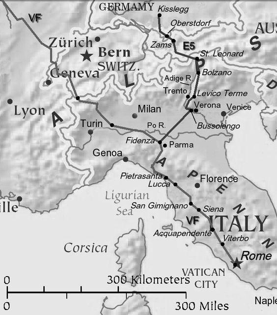 Blog cestovatelů - Via la plata, Německo - Řím etc