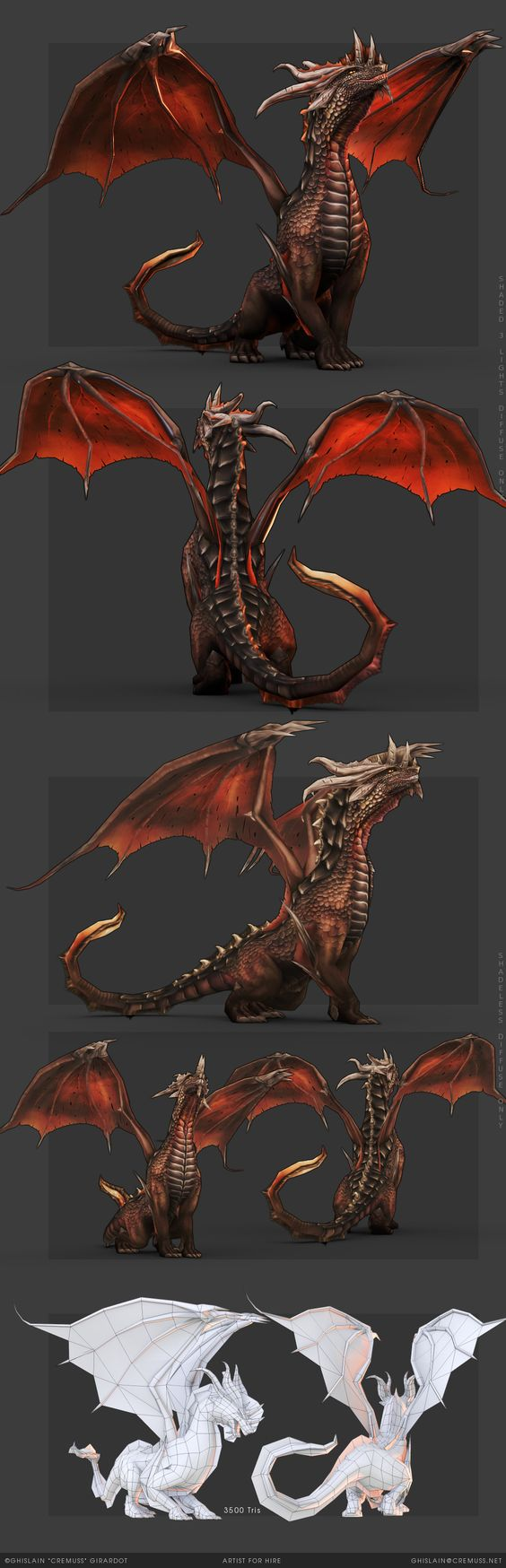Dragon animation studio