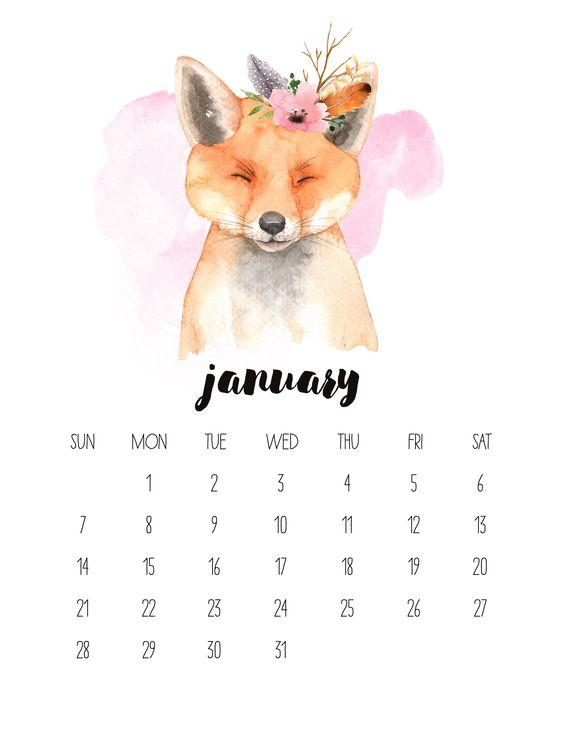 TCM-Watercolor-Animal-1-January.jpg 2,550×3,300 pixels