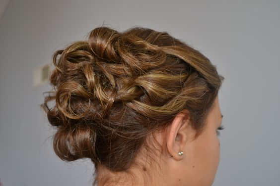 highlighted updo