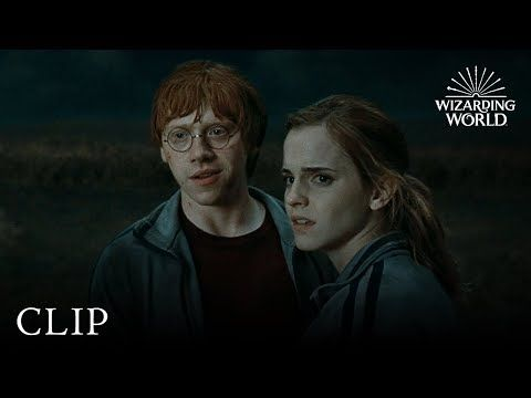 Ron Hermione And Harry Reunited Harry Potter And The Deathly Hallows Pt 1 Youtube Harry Potter Harry Hermione