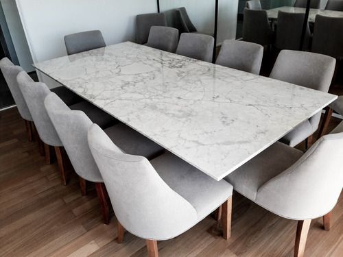 Tapa De Mesa Marmol Carrara Comedor Estar Forma Y Diseno 39 200 00 En 2021 Mesas Con Marmol Mesas De Comedor De Marmol Comedores De Marmol