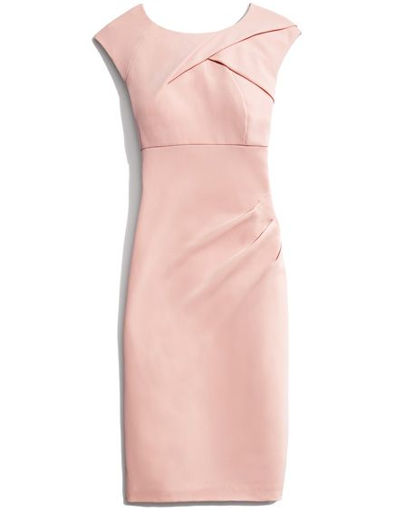 Adrianna Papell Sleeveless Side Rouched Seath Dress. Shop it and the 19 other prettiest dresses to welcome spring in.