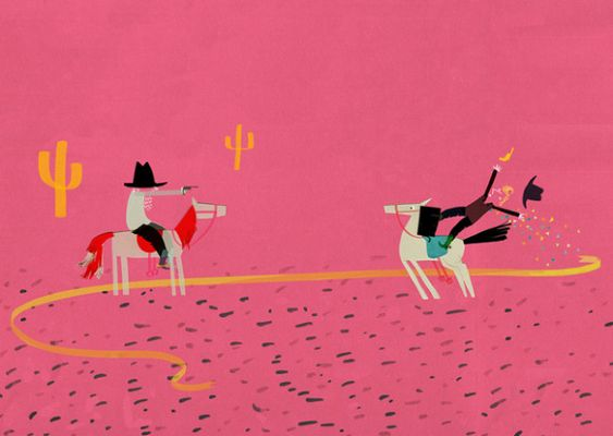 Artist :: Yasmeen Ismail  Illustration Friday