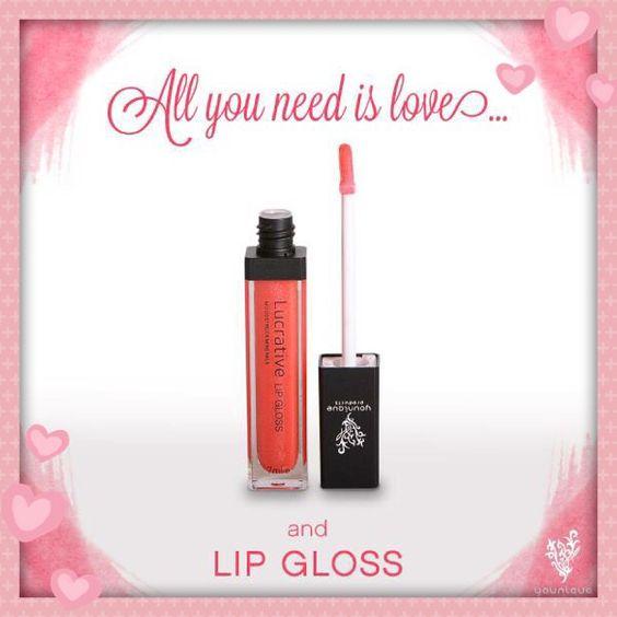 Younique lip gloss lovesick
