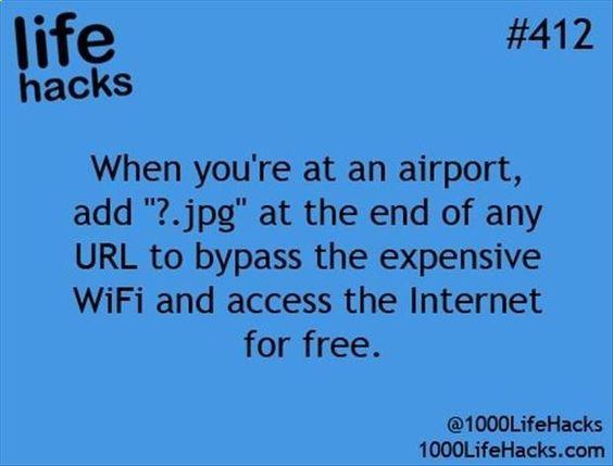 life hack: