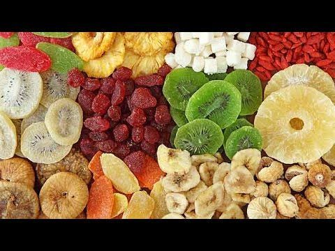 Como deshidratar frutas: plátano y manzana
