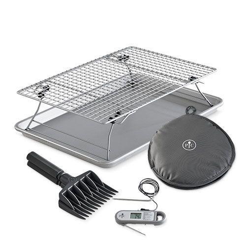 half sheet pan baking rack meal set