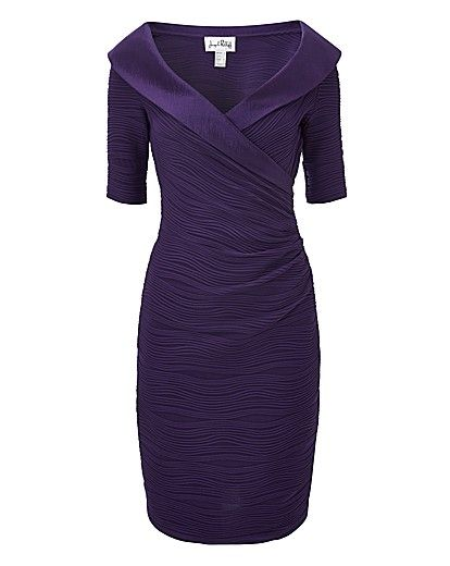 Women Over 50 Slimming Down For Christmas Parties | Fabafterfifty.co.uk. Don't care for the purple but would take it in dark green or blue