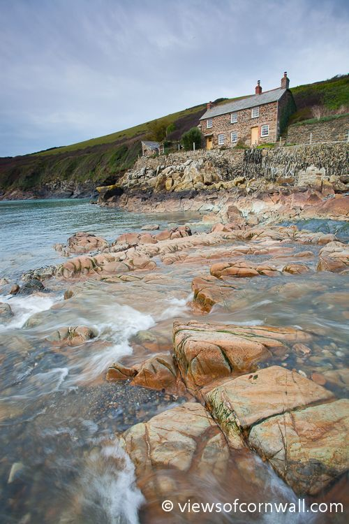 Port Quin (North Cornwall, England) stunning cliff walks and plenty of nooks and crannies on the beach to poke around in when the tide is low.