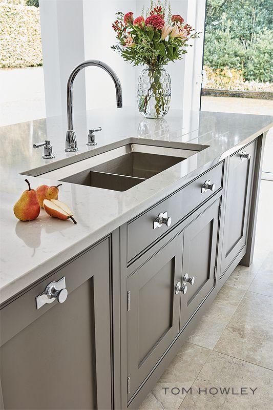Contemporary Grey Kitchen In 2020 Kitchen Design Kitchen Range
