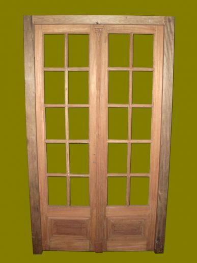 Puertas antiguas doble hoja buscar con google puertas for Puertas antiguas dobles