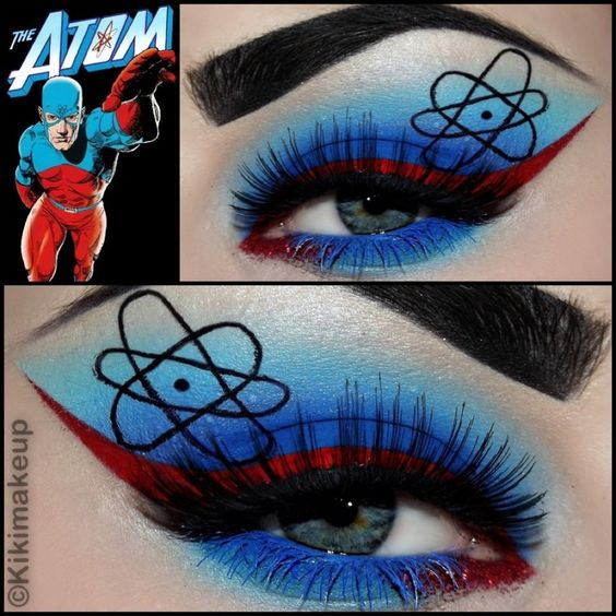 The Atom Inspired Eye Makeup