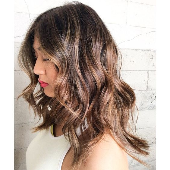 Balayage and Waves... By Butterfly Loft stylist Karen.