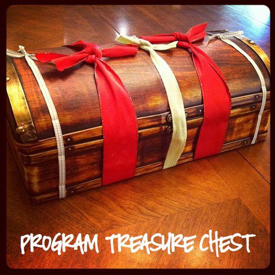 Little LDS Ideas: Program Treasure Chest
