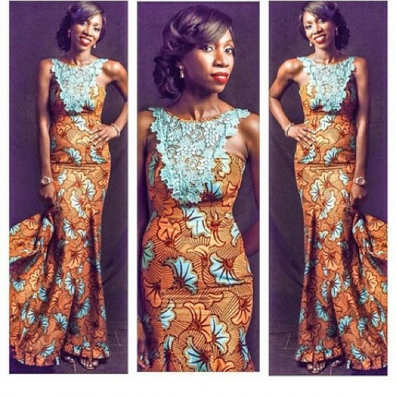 Ankara African Fashion And Lace On Pinterest