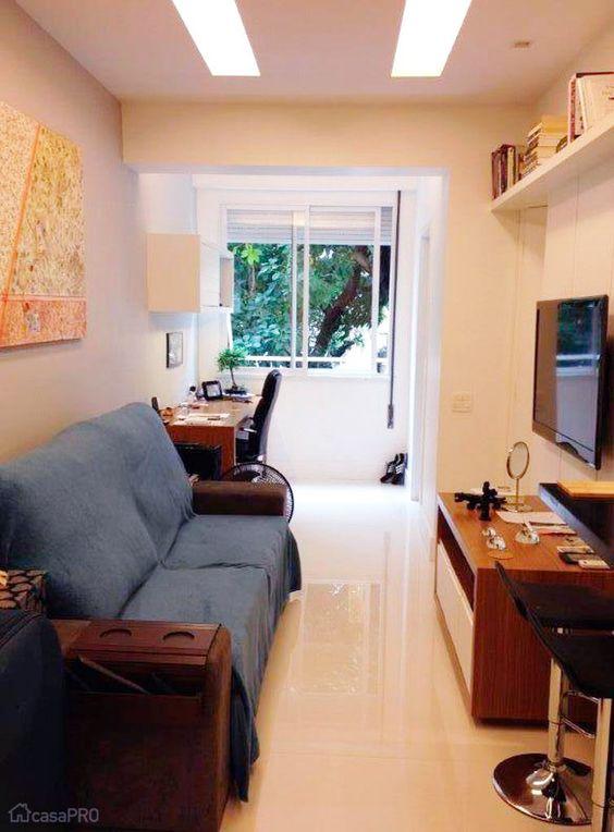 Ambientes pequenos: 38 dicas para aproveitar cada cantinho de casa - Casa