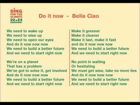 Sing For The Climate Belgium Final Clip Youtube Klimaatverandering Teksten Muziek