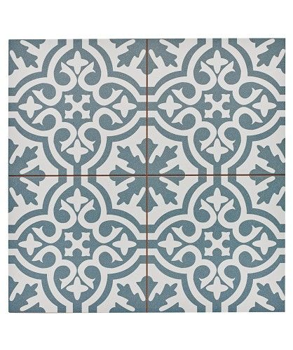 Topps Tiles.  Family Floor?  Bring pattern in there? Berkeley Slate Blue Tile   £67.56/sqm