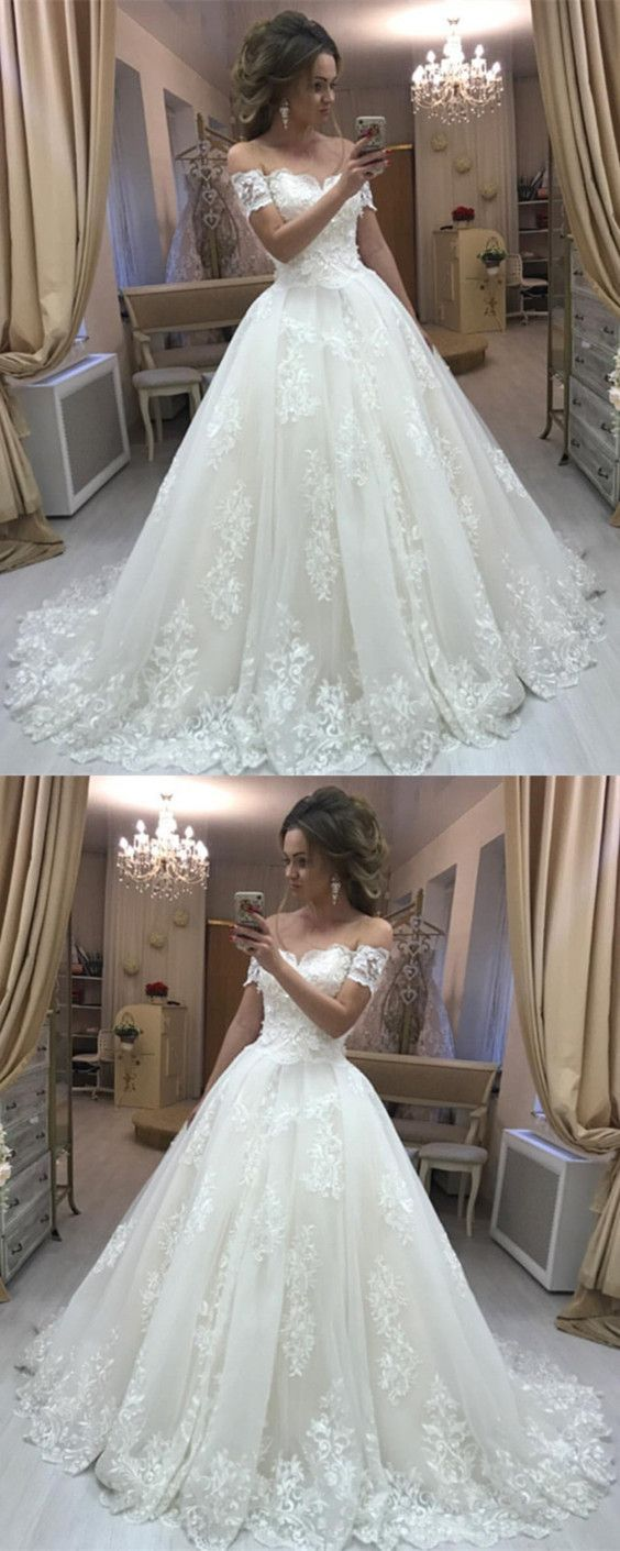 Vintage Lace Embroidery Off Shoulder Tulle Wedding Dresses Princess M4649 Lace Wedding Dress Vintage Tulle Wedding Dress Wedding Dresses Vintage Princess [ 1410 x 564 Pixel ]