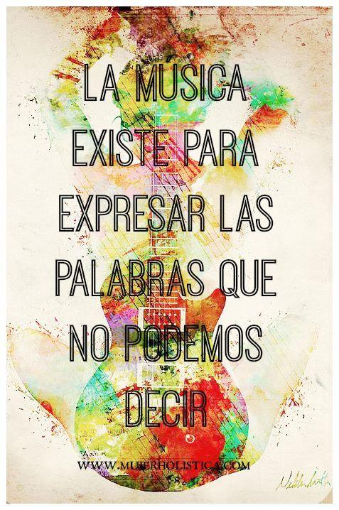 Cuando guardamos sentimientos negativos adentro que no sabemos cómo expresar, el cuerpo los termina reflejando a través de diferentes dolencias y enfermedades.  Si eres de las que te cuesta expresarte, la música es una forma increíble de dejar ir aquello que sientes por dentro. También puede ayudarte a soltar tensión que estás cargando, especialmente si incluyes movimientos corporales con la música y bailas con ella.   Así que, adelante, baila, canta y expresa todo lo que llevas dentro!