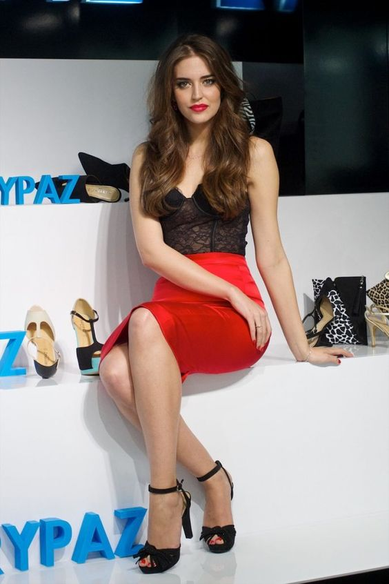 Clara Alonso at Marypaz Store Opening in Madrid, March 2014.