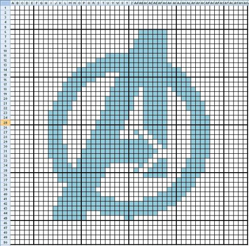 Dorothy and Toto (Wizard of OZ) cross stitch cross stitch - cross stitch graph paper