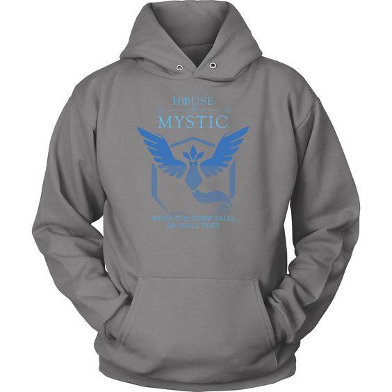 POKEMON HOUSE MYSTIC Unisex Hoodie T shirt - TL00618HO