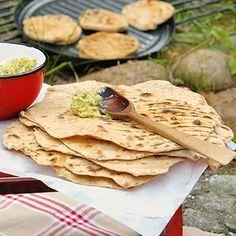 Chapati mit Würzbutter