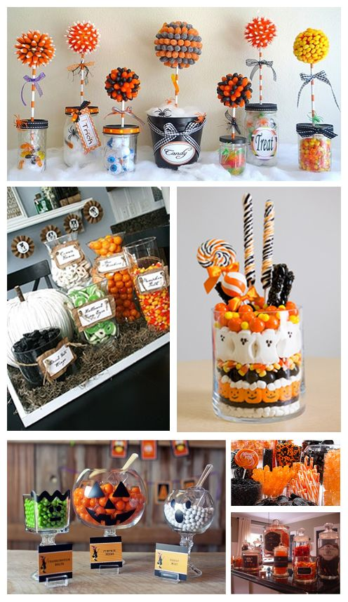 Ideas fiestas and candy on pinterest for Decoracion para halloween
