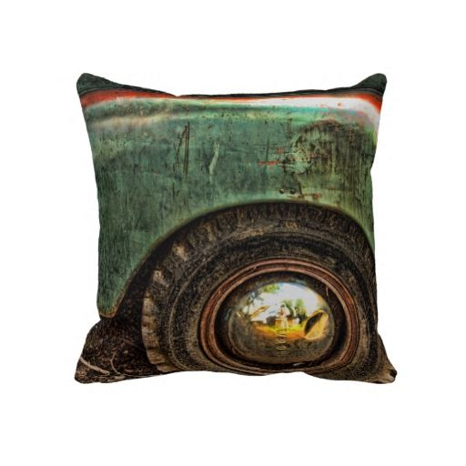 Grungy Old Truck -  MoJo Pillows