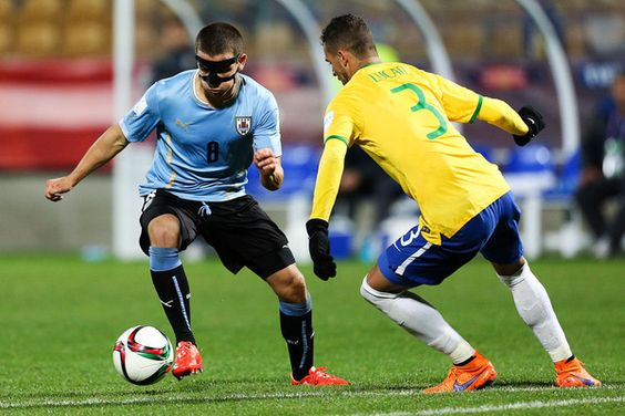 Brazil v Uruguay: Round of 16 - FIFA U-20 World Cup New Zealand 2015