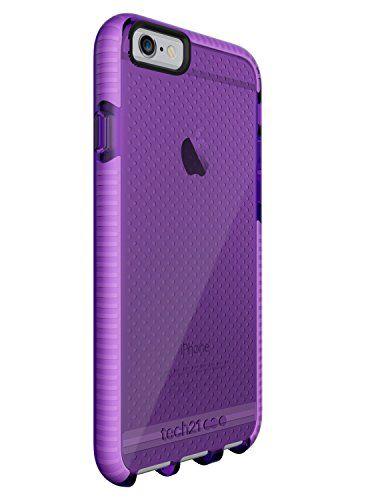 Tech21 Evo Mesh for iPhone 6/6S - Purple/White Tech 21