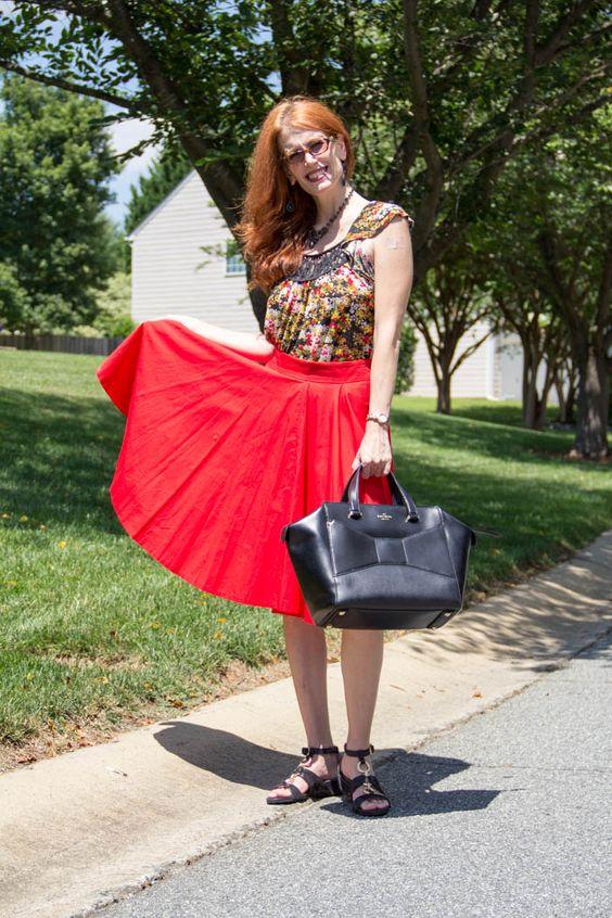 IMG_3192 zara skirt, anthro top, kate spade bag