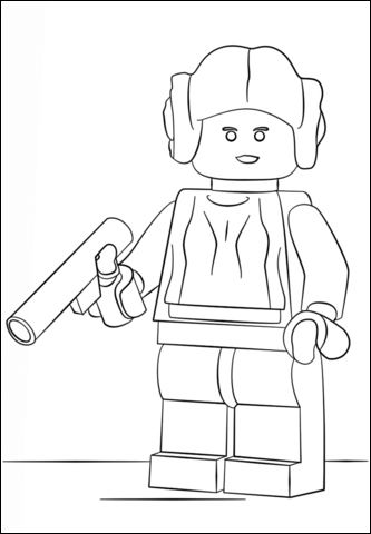 Coloriage Star Wars Lego