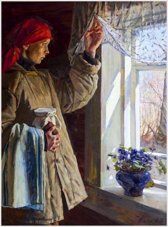 Чайников Григорий Леонтьевич (1960-2008) «Весна» 2007: