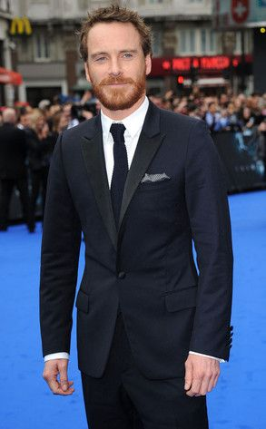 "Michael Fassbender is a redhead in ""real"" life!!"