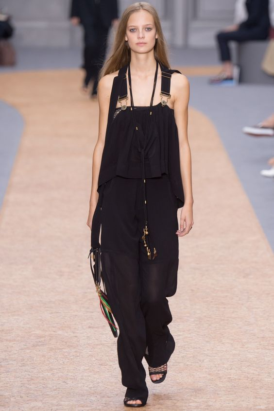 Chloé Spring 2016 Ready-to-Wear Fashion Show - Ine Neefs (Elite)