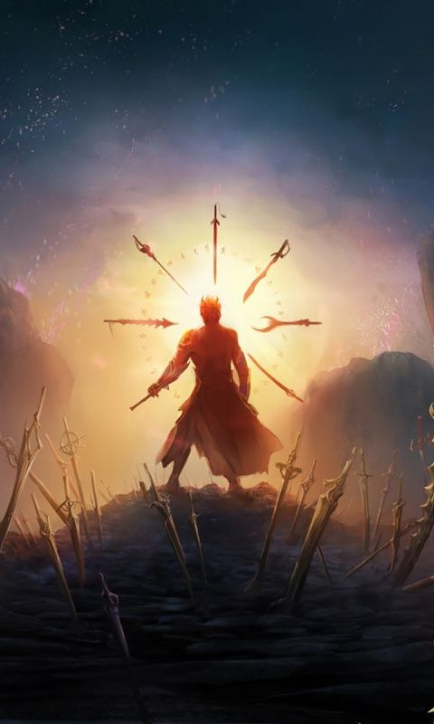 Swords Fantasy Warrior Art 480x800 Wallpaper 480x800 Wallpaper Fantasy Warrior Character Art