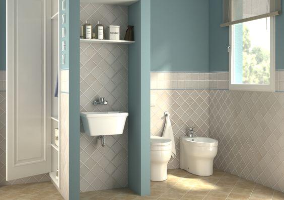 Bagno lavanderia con guardaroba progetta il tuo bagno pinterest online gallery and galleries for Progetta il tuo bagno